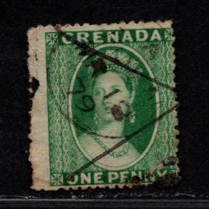 $Grenada Sc#5b used, fine, Cv. $55