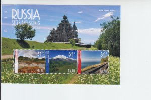 2014 Palau Scenes of Russia MS3 (Scott 1227) MNH