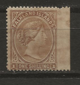 Falkland Is 18 SG 38 MLH F/VF 1895 SCV $80.00 (jr)
