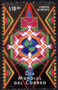 MEXICO 2833 World Post Day. MNH