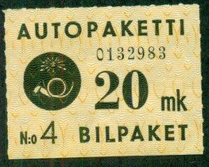 FINLAND #Q3, Mint Hinged, Scott $30.00