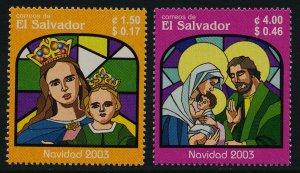 Salvador 1589-90 MNH Christmas