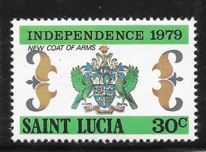 St Lucia Mint Never Hinged [4171]
