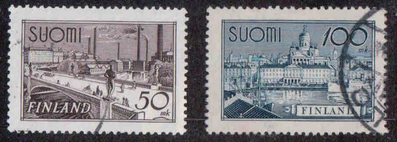 Finland # 239-40 ~ Cplt Set of 2 ~ Used, HMR ~ cv .440