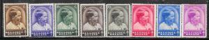 Belgium # B180-B187 Prince Baudouin  (MH) CV $9.75