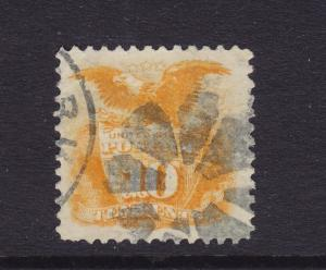 116 Big margins XF used neat  cancel with nice Rich color ! see pic !