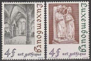 Luxembourg #534-5 MNH  (S7140)