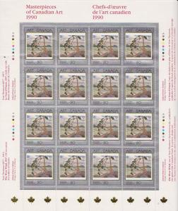 Canada - 1990 Masterpieces of Canadian Art Sheet #1271
