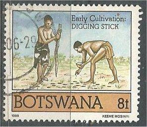 BOTSWANA, 1988, used 8t, Cultivation, Scott 428