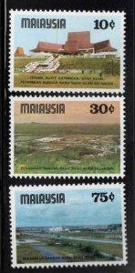 Malaysia Scott 162-164 MNH** set