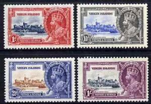 British Virgin Islands 1935 KG5 Silver Jubilee set of 4, ...