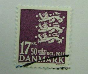 Denmark SC #1311  Used stamp