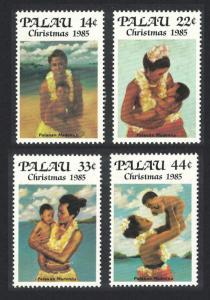 Palau Christmas 4v SG#85-88 SC#90-93