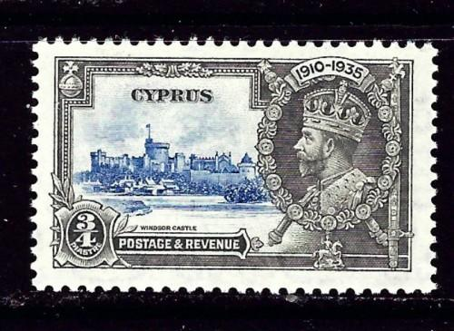 Cyprus 136 Hinged from 1935 set