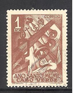 Cape Verde 268 used SCV $ 0.45 (RS)