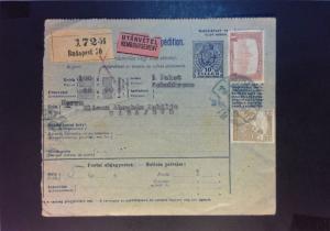 Hungary 1918 Postal Receipt Card  - Z891