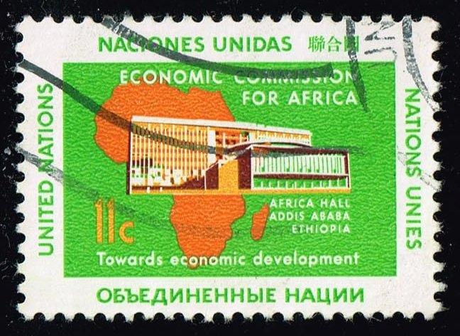 UN New York #96 Economic Commission for Africa; Used (0.25)