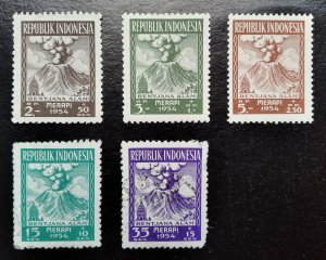 Old stamps of Indonesia, 1954, Collection (3)
