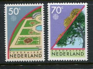 Netherlands #679-80 MNH
