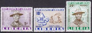 Liberia #399-400, C135  MNH  (SU7160)
