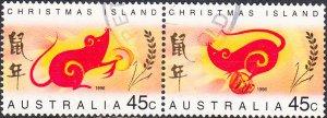 Christmas Island #377a Used