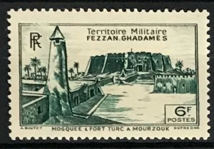 Libya Fezzan-Ghadames #1N9 MH CV$1.10