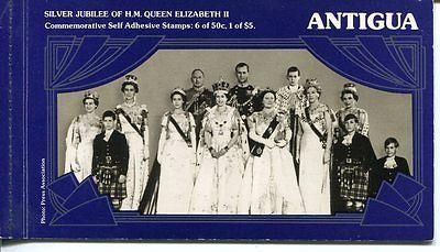 Antigua Silver Jubilee Booklet complete VF and scarce