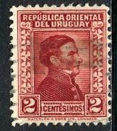 Uruguay; 1943; Sc. # 353A; O/Used Single Stamp