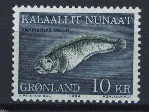 Greenland 1984, Fish 10kr MNH