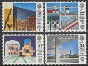 GB 1987 EUROPA Stamps - Modern Architecture MNH SG#1355-1358 S1087