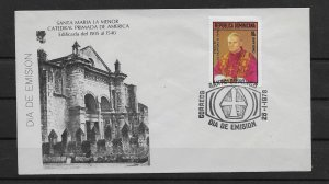 DOMINICAN REPUBLIC STAMP COVER #SEPTG5