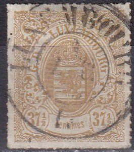 Luxembourg #24  F-VF  Used  CV $240.00  Z1134