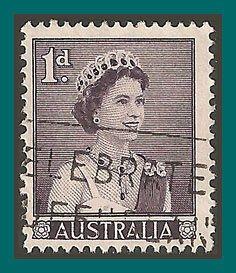 Australia 1959 Queen Elizabeth II, used  314,SG308