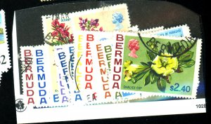 Bermuda #255-71 Used F-VF Cat $44