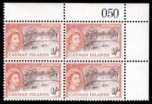 Cayman Islands - Scott #145 - Blk/4 - MNH - SCV $19