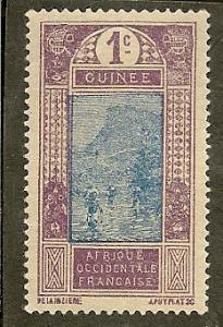French Guinea       Scott 63   Fording River     Unused