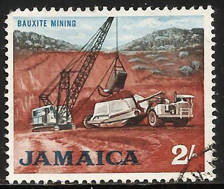 Jamaica 1964 Scott# 228 Used (corner)