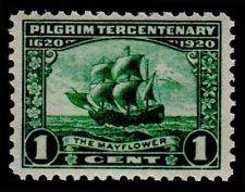 SCOTT # 548 SINGLE PILGRIM TERCENTENARY ISSUE MINT NEVER HINGED GEM