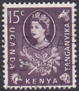 Kenya Uganda and Tanganyika 1960 SG185 Used
