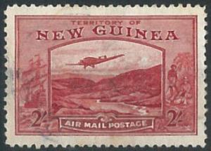 70679 -   NEW GUINEA  - STAMP : Stanley Gibbons #  222  -  Finely USED