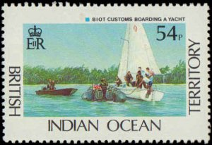 1991 British Indian Ocean Territory #111-114, Complete Set(4), Never Hinged