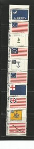 USA Stamps #1354a Strip of 10