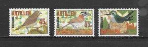 BIRDS - NETHERLANDS ANTILLES #521-3   MNH