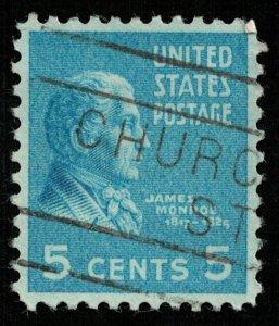 USA, James Monroe (2932-Т)