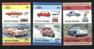 Tuvalu-Niutao #4,5,7  Mint NH VF 1994-85 PD