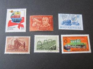 Hungary 1948 SC C56,1012-3,2368,2535,3396 Train FU