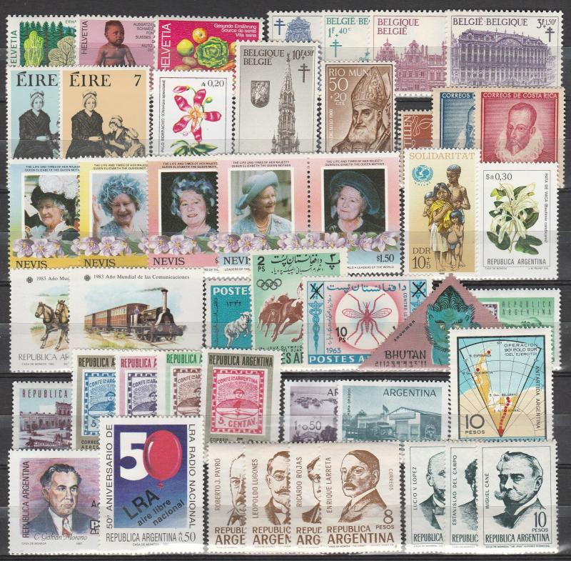 Worldwide Lot- Mint Never Hinged (A2554)