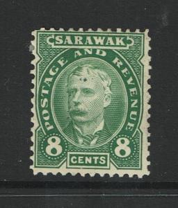 Sarawak SG# 31, Mint No Gum, Hinge Remnant - S981