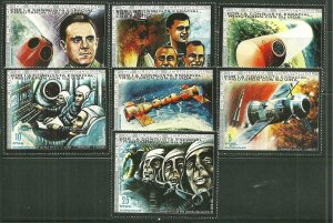 Equatorial Guinea MNH Set Space Tragedies
