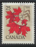 Canada SG 877 Used  Maple Leaf   see details